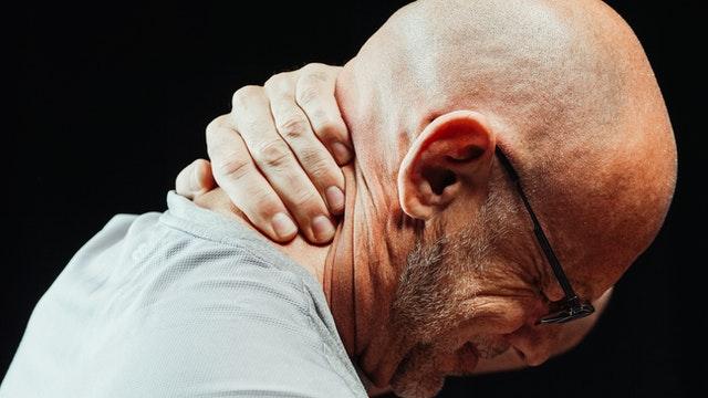 patiënt met pijn
